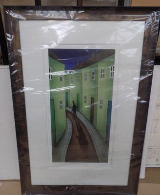 Signed mounted print by Paul Horton-Shadows in Time 102/195 Framed with certificate