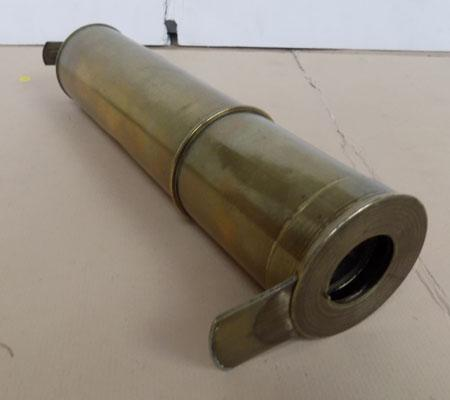 4 Level brass telescope