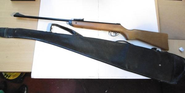 BSA Meteor rifle in working order