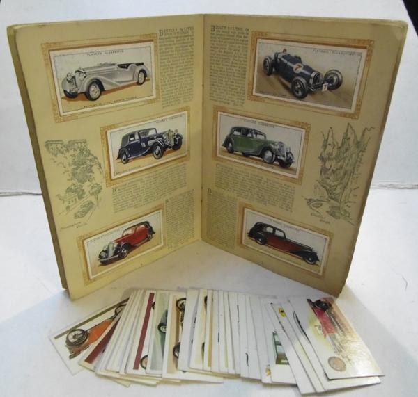 Full set & spares of John Player cigarette cards & folder