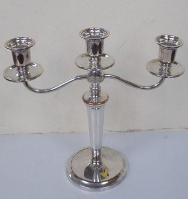 Walker & Hall silver plate candle stick-very good condition