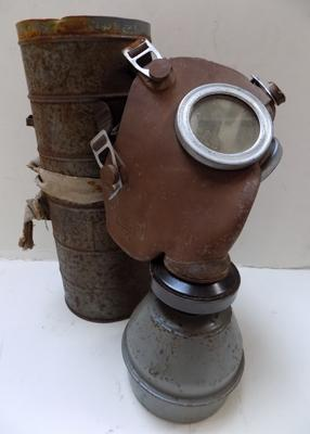WWII child's gas mask