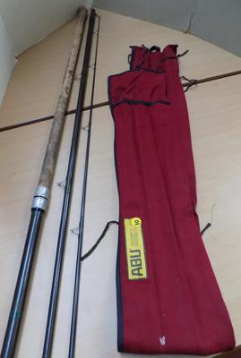 ABU fishing rod and bag - Matchmaker 13'