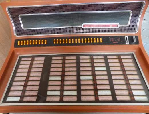 Wurlitzer record juke box (requires attention) keys in office