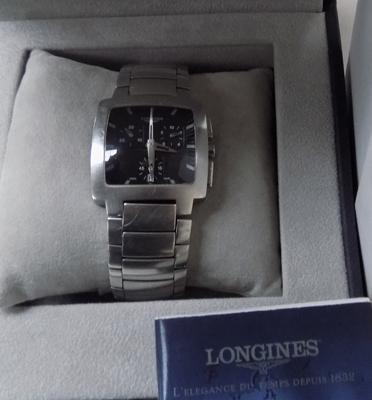 Longines Chrono watch in box