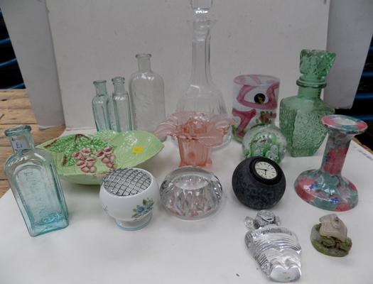 Selection of mixed items including Carlton ware.