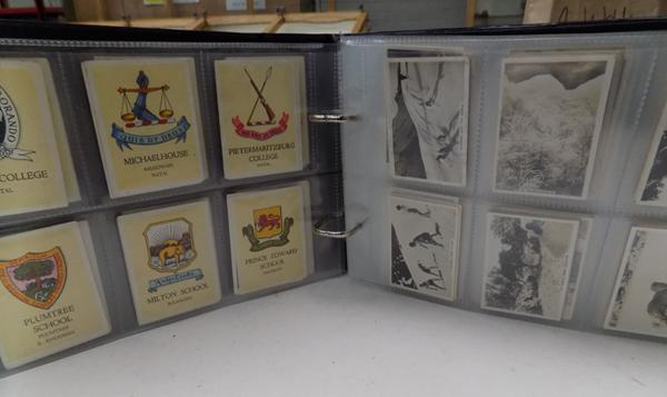 Album of large cigarette cards