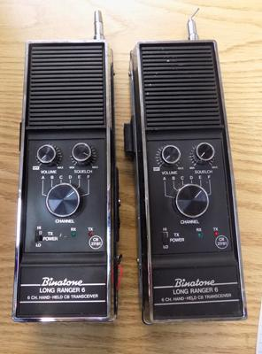Binatone hand held CB radios in working order
