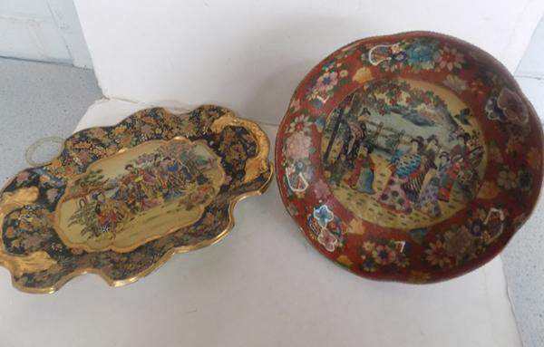2 highly detailed oriental pieces