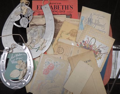 Selection of vintage ephemera