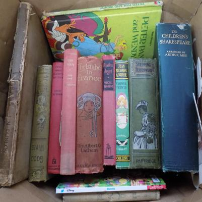 Compilation of vintage books