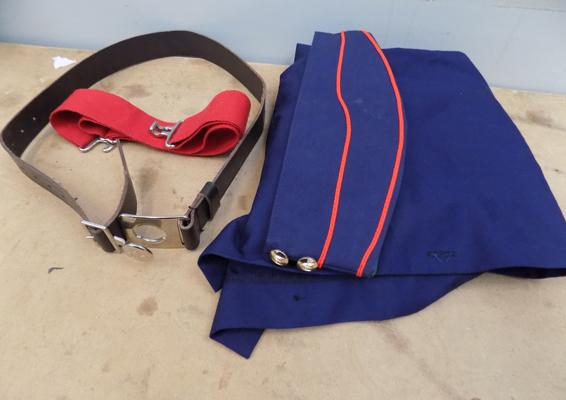 Girl Guides vintage uniform items and girls brigade
