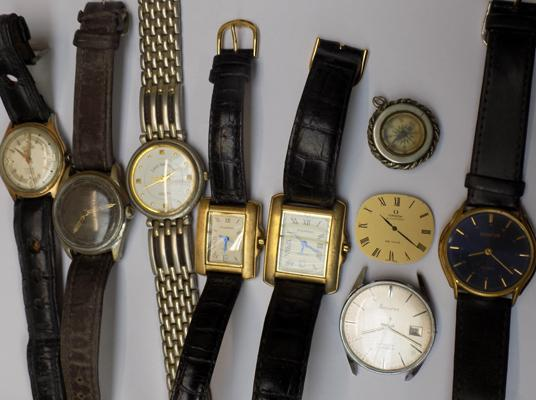 Selection of vintage watches incl: Accurist