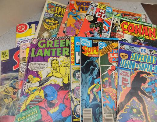Selection of vintage D.C Comics