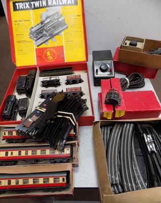 Trix train railway set plus accessories