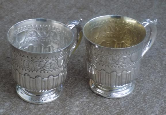 x2 Mappin and Webb chalices