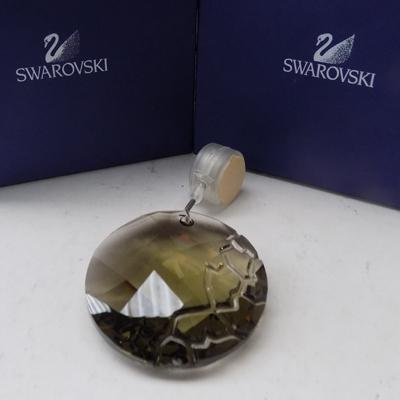 Swarovski brown window crystal with box