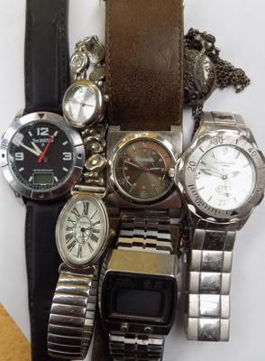 Selection of 7 watches (Bench etc)