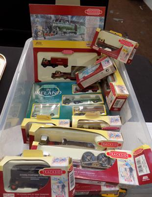 Large selection of boxed Trackside vehicles