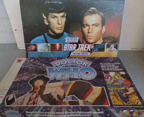 Dr Who and Star Trek board games
