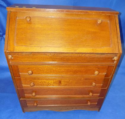 4 drawer writing bureau