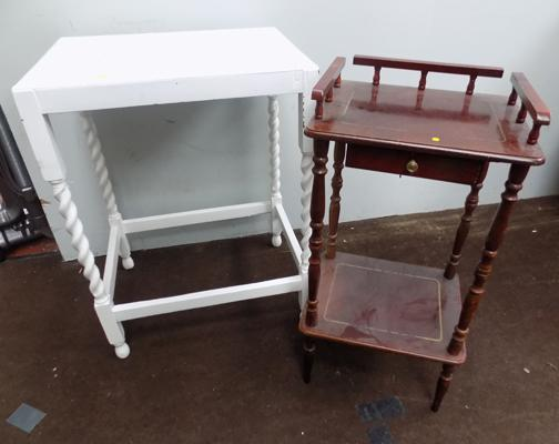 Hall table and telephone stand