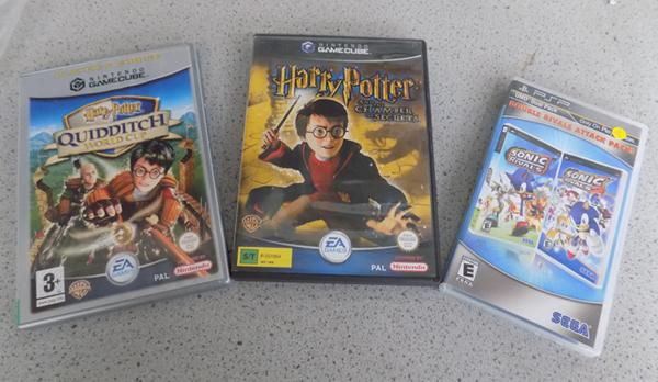 Harry Potter games cube