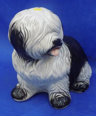 Ceramic dog (approx 30cm high)