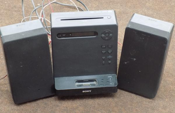 Sony multi docking station/ CD player