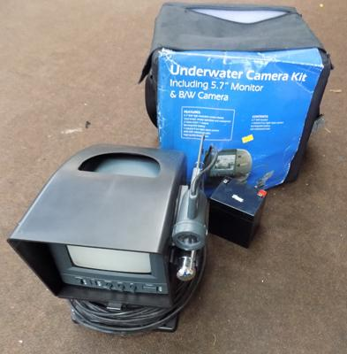 Underwater CCTV camera kit (with camera)