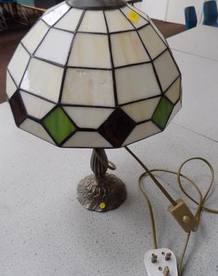Tiffany style lamp - damage to shade