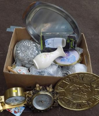 Box of glassware, ceramics and others