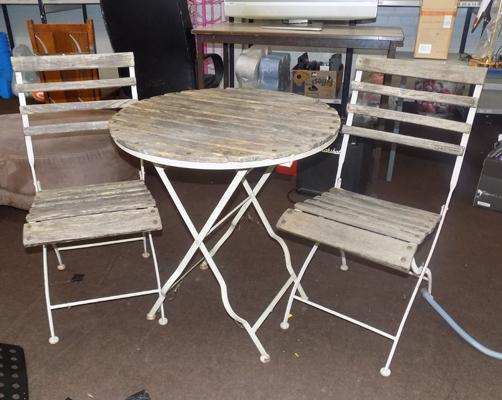 Bistro Set (table and 2 chairs)