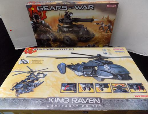 2 'Gears of War' meccanno sets