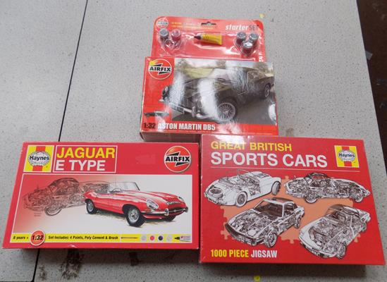 3 Boxed Haynes models
