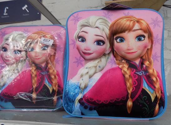 6 new Frozen lunch bags
