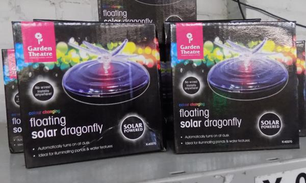 6 new floating solar lights