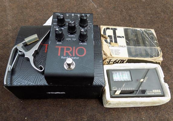 Trio Bond Creator and guitar tuner
