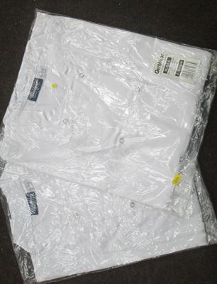2 chefs white tops size large
