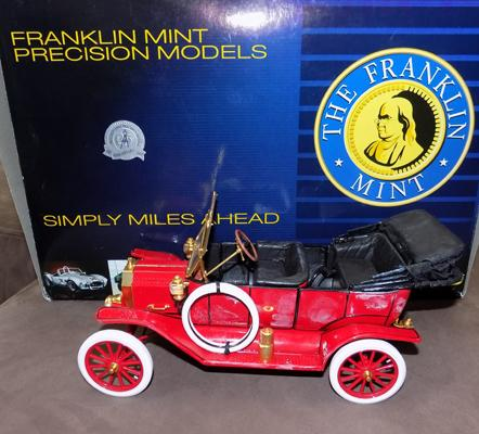 Franklin Mint Model T (repaired)