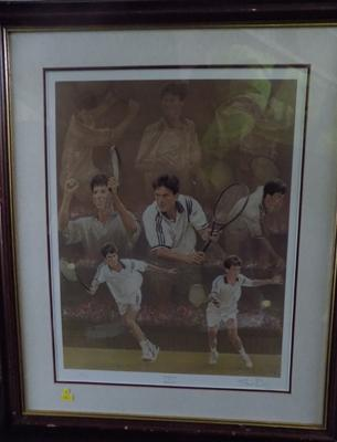 Tim Henman Limited Edition print  (51 of 75)