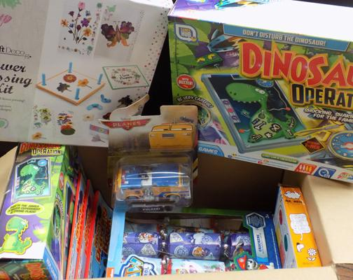 Box incl. Dino operation