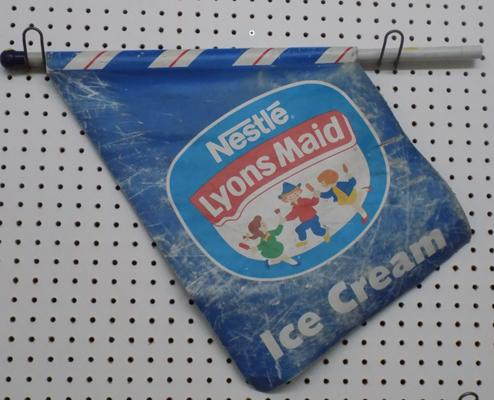 Lyons Maid Nestle ice cream flag