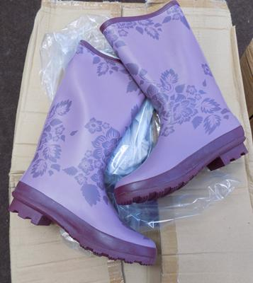 Box of ladies wellies