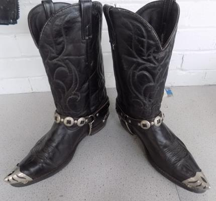 American made authentic cowboy boots - size 13 gents