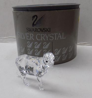 Swarovski small goat with box