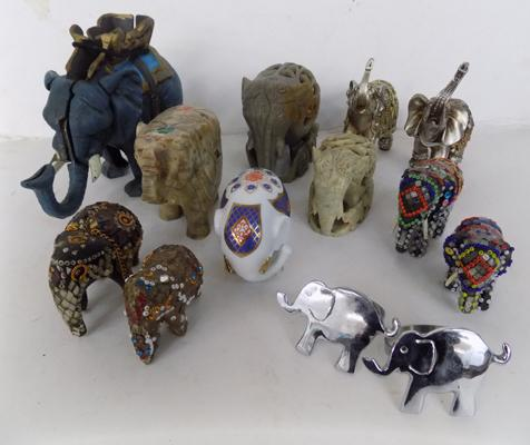 Selection of elephants