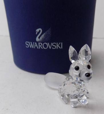 Swarovski small fox with box