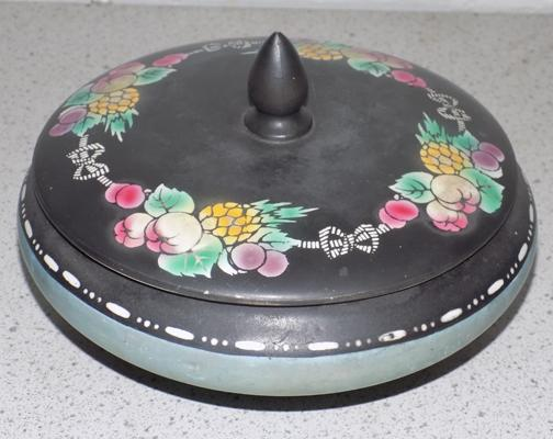 Shelley England lidded bowl