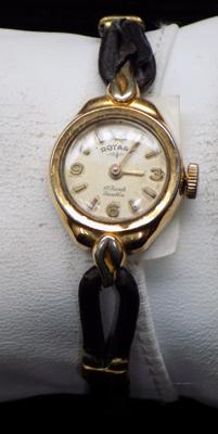Vintage Rotary ladies 17 jewel cocktail watch, rolled gold